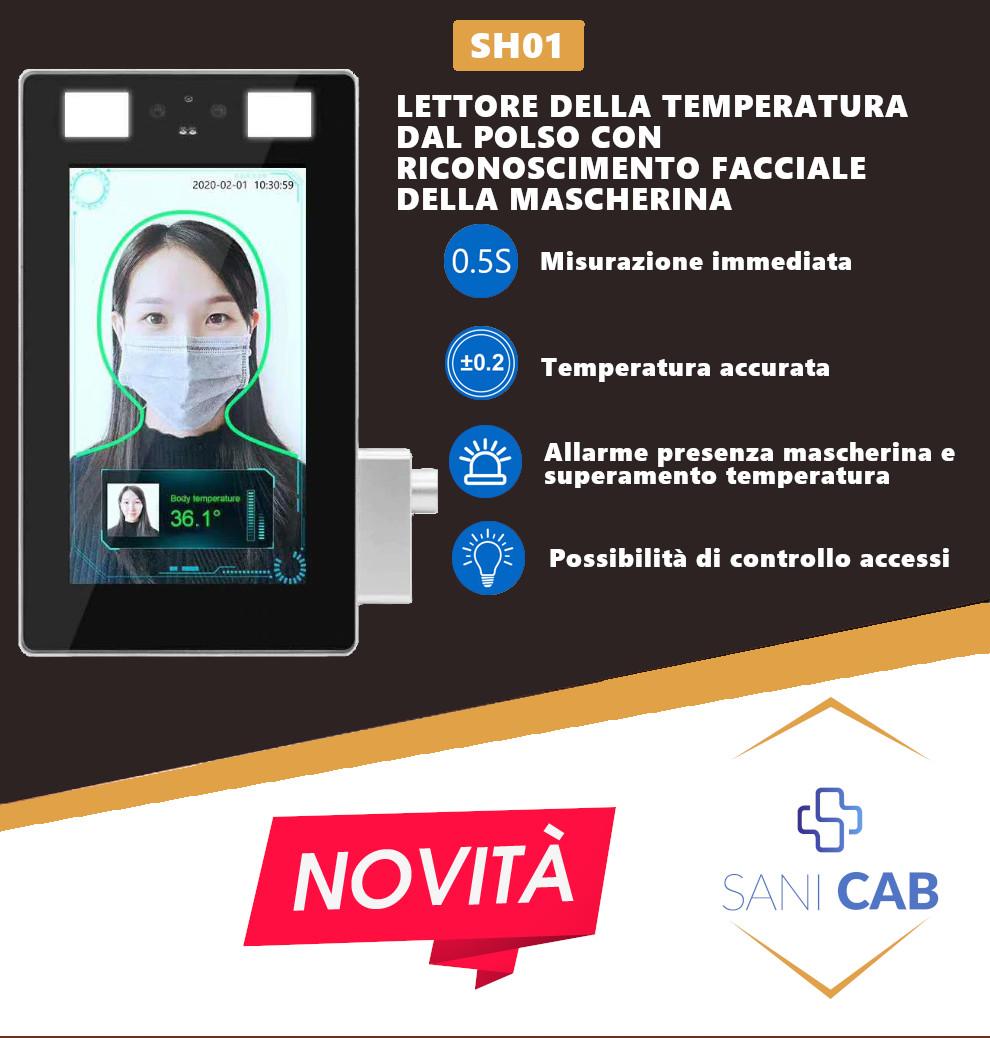mini monitor lettura temperatura dal polso